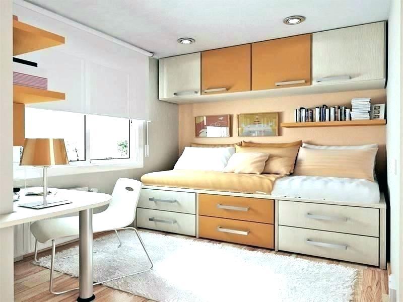 Κρεβάτι με οργανωμένους αποθηκευτικούς χώρους