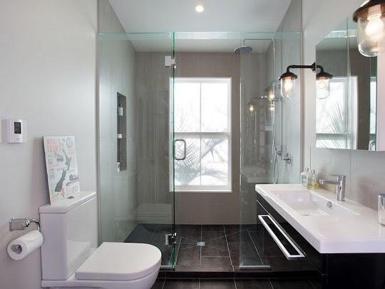 Ανακαίνιση μπάνιου στη Θεσσαλονίκη, Θέρμη με κατασκευή εντυπωσιακού ντουζ