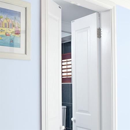 Άνοιγμα της πόρτας – πώς μπορείτε να εξοικονομήσετε χώρο