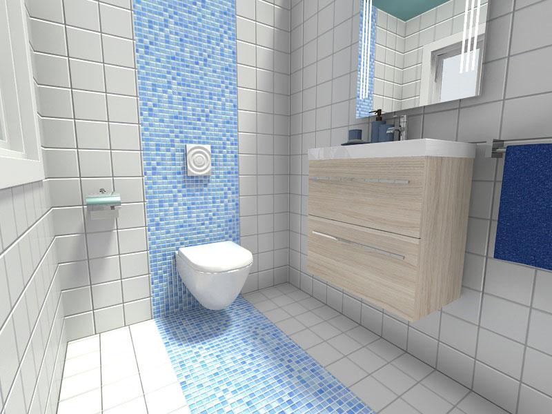 Το ιδανικό χρώμα για το μικρό μπάνιο