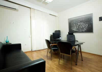 Ολική αναβάθμιση γραφείου στο κέντρο της Θεσσαλονίκης